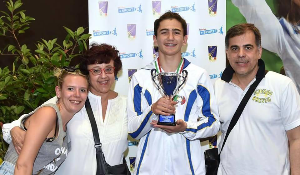 Campionato Italiano U14 categoria Allievi: 5° posto per Lorenzo Volpi