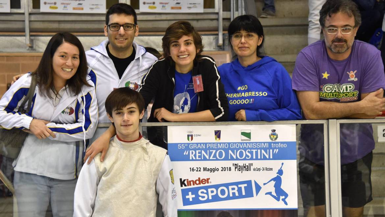 Campionato Italiano GPG Under 14: ecco i risultati dal fioretto