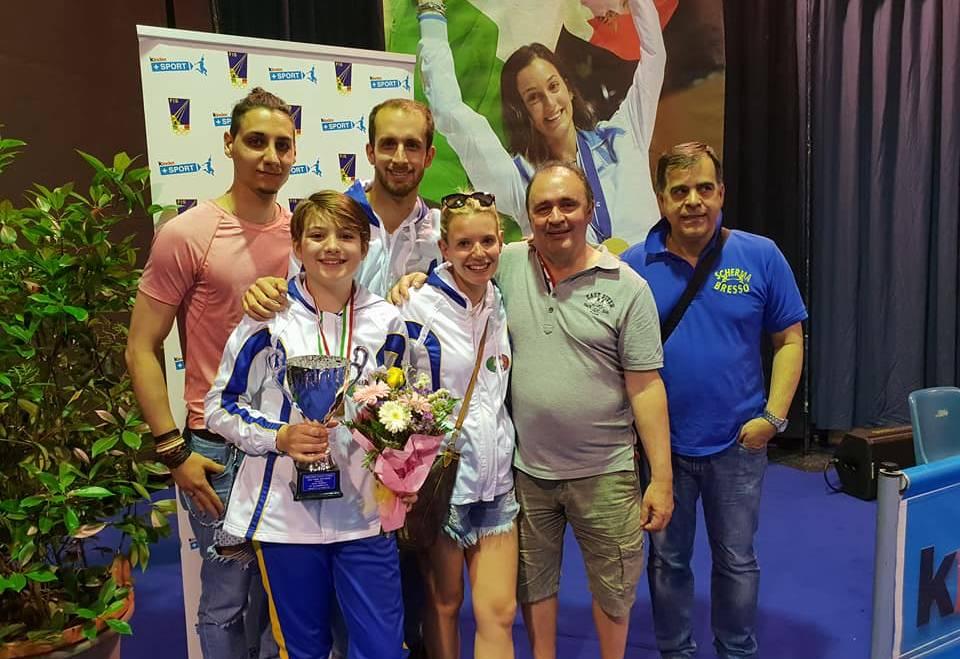 Campionato Italiano GPG Under 14 Categoria Ragazze: Lucrezia Galli è di bronzo