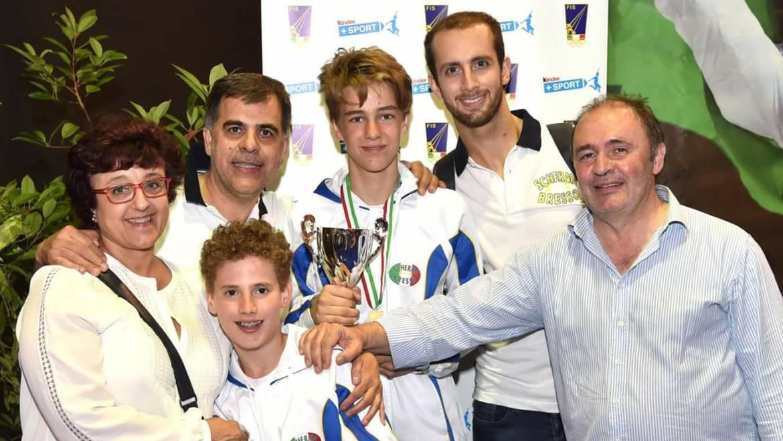 Campionato Italiano GPG Under 14 Categoria Ragazzi: 6° posto per Lupo Sala