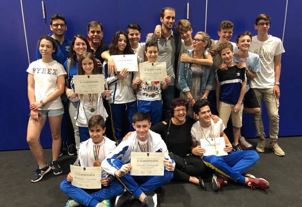 Campionato Regionale Under 14: Scherma Bresso sbanca!