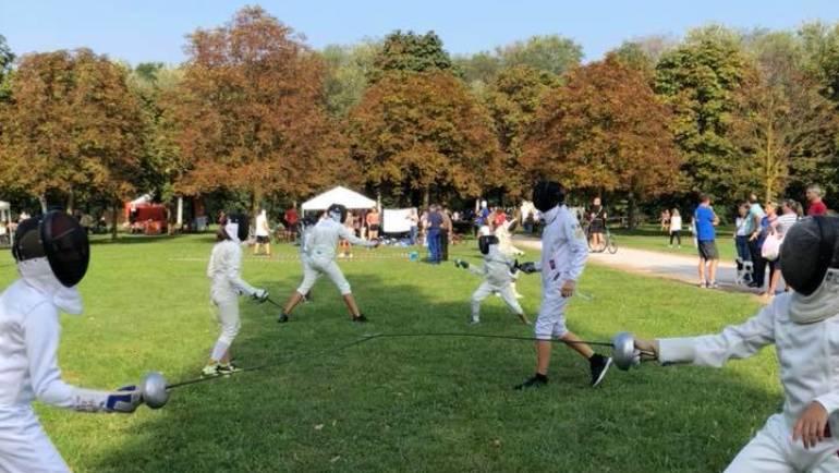 Festa dello Sport: tra esibizioni e #FencingMob18