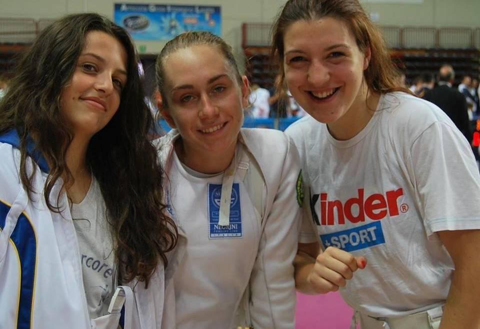 U17 I Circuito Europeo Cadetti Spada Femminile: i risultati da Novara