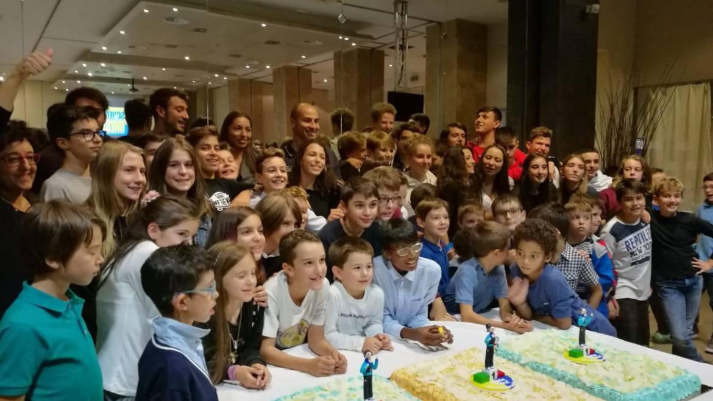 Scherma Bresso in festa: inaugurato il nuovo anno agonistico con i campioni mondiali