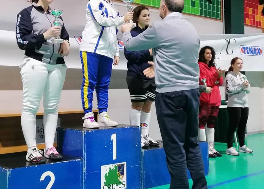 Scherma Bresso espugna il Trofeo Tenax: vittorie di Gaia Di Benedetto, Riccardo Gianoli e Leonardo Lenelli