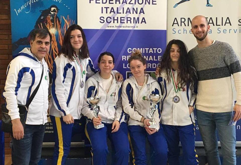 Campionati Assoluti Regionale: Ayres vince nella spada femminile