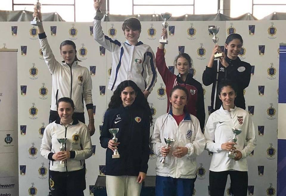 3a Prova Regionale GPG: medaglie per spada e fioretto
