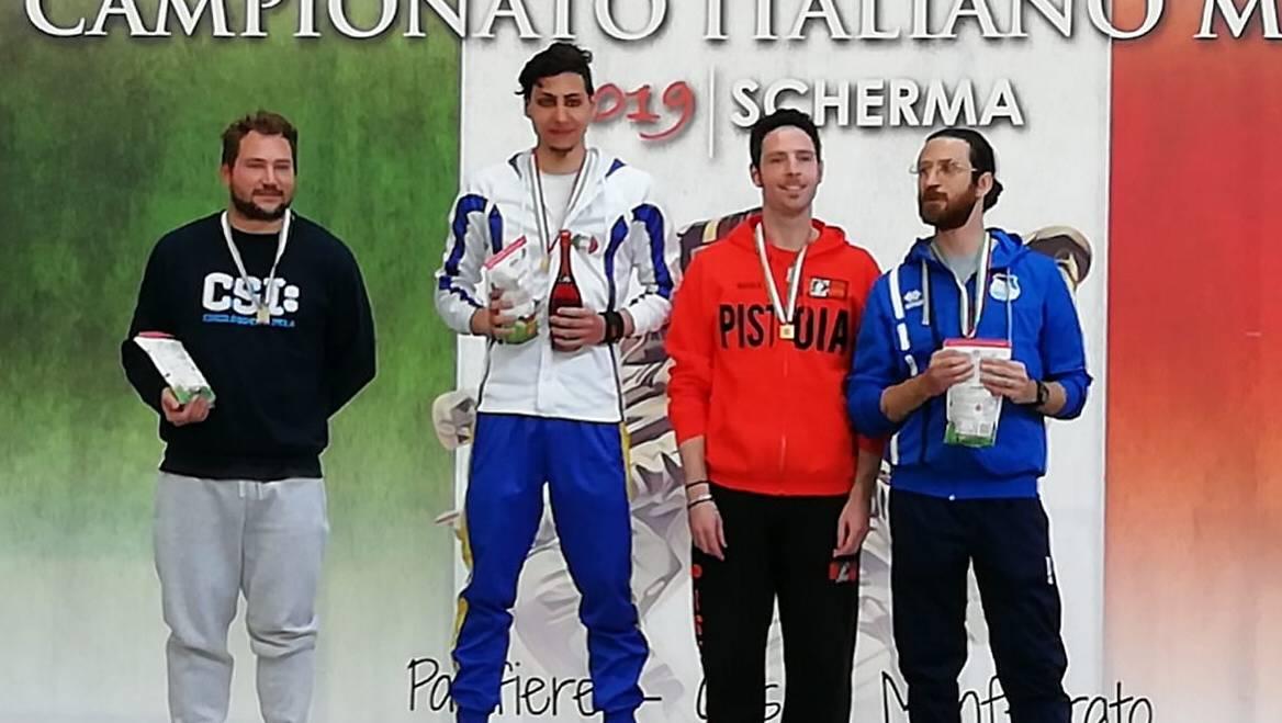 FABIO BARBARA CAMPIONE ITALIANO MASTER CAT. 0 DI SPADA