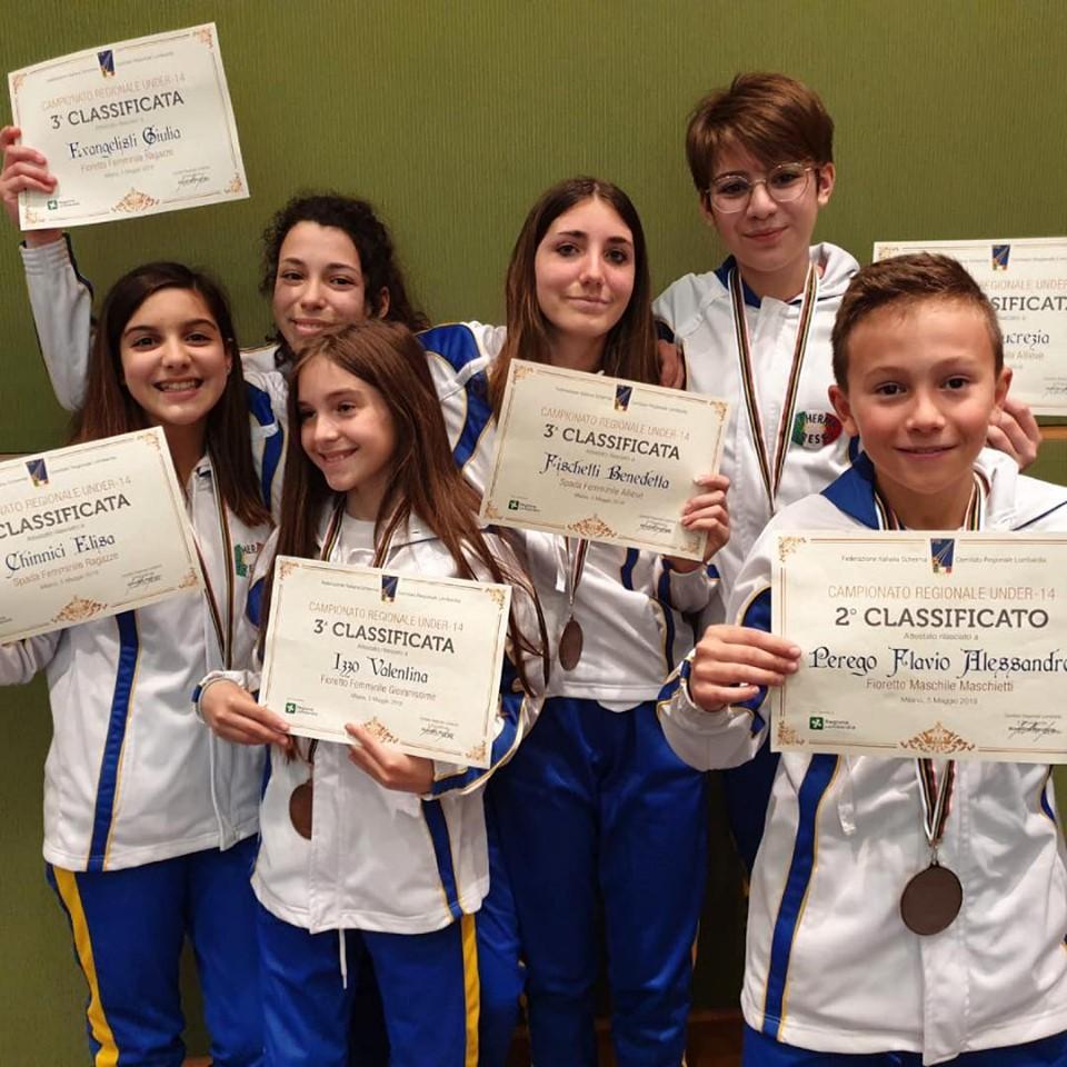 Premiazione Campionati Regionali GPG