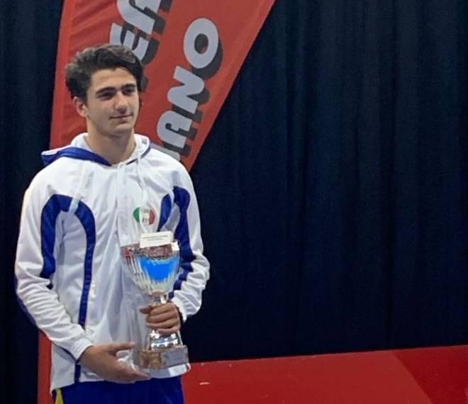 Prima Prova Nazionale Cadetti di spada: Lorenzo Volpi bronzo!