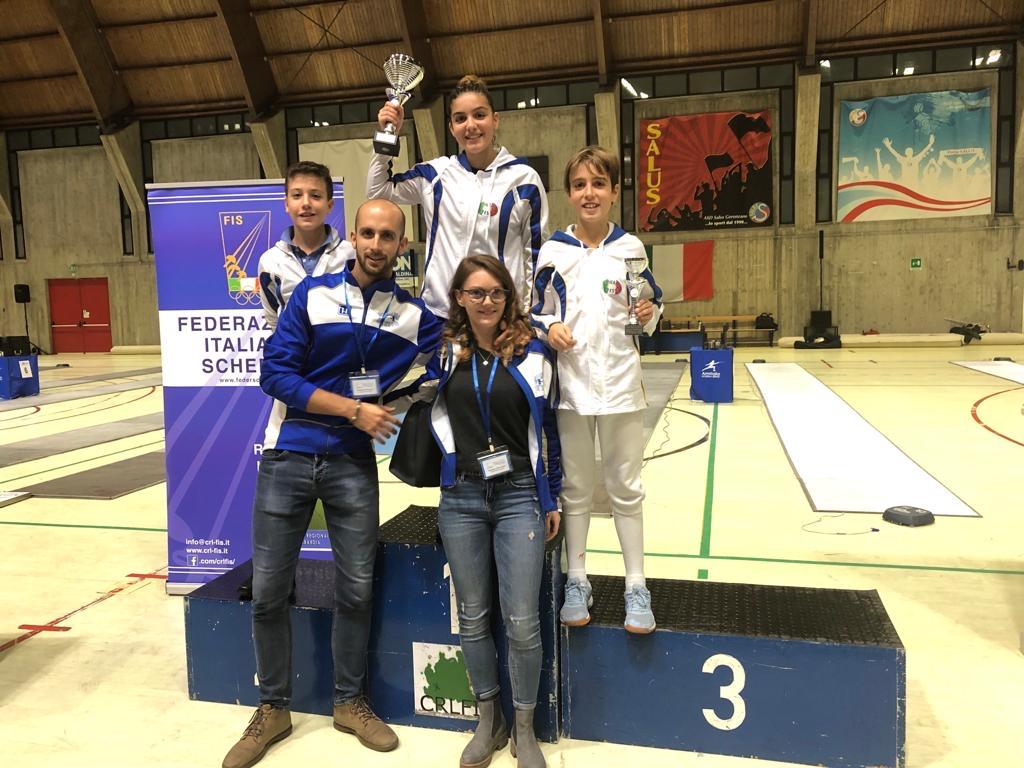 1a Prova Regionale GPG: Scherma Bresso on the top