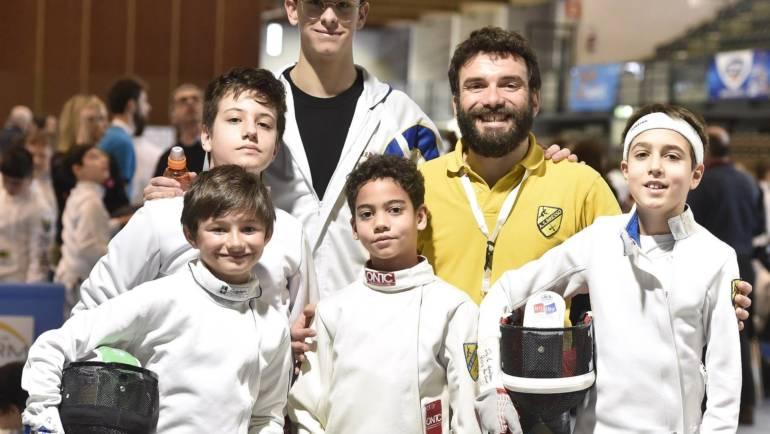 GPG a squadre Under 14 spada e 1° Trofeo Bellini: i risultati