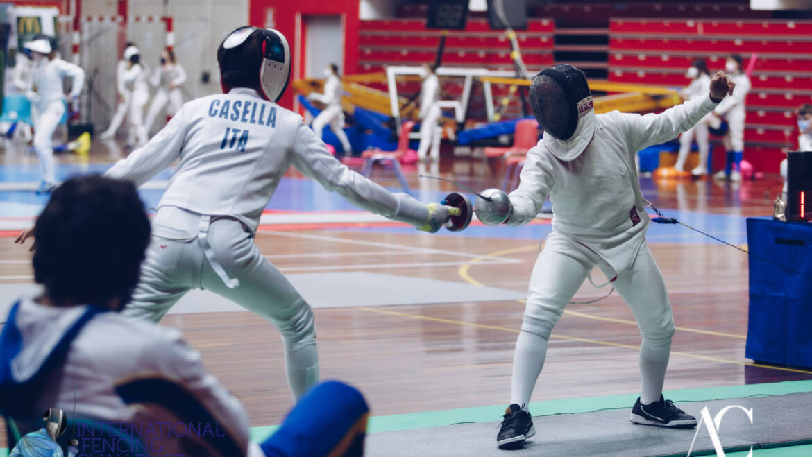 Scherma Bresso all'International Fencing Challenge