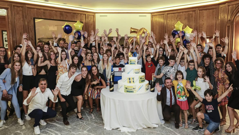 Buon 50° compleanno Scherma Bresso!